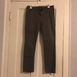 Size 10 American eagle olive pants